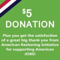 $5 Monetary Donation